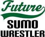 Future Sumo Wrestler Kids T Shirts