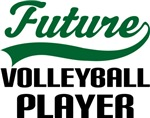 Future Volleyball Player Kids T Shirts
