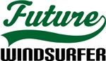 Future Windsurfer Kids T Shirts