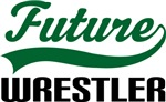 Future Wrestler Kids T Shirts