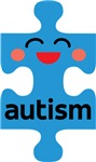 Cute Autism Kawaii Puzzle Design