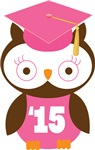 Owl 2015 Class Grad Gifts and Shirts