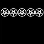 Pentagram So Below Black & White