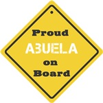 Proud Abuela on Board