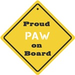 Proud Paw on Board