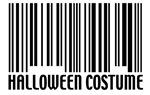 Halloween Barcode Costume