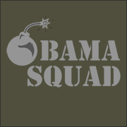 barack obama bomb squad election t-shirt