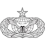 Air Force Security Forces Badge, Senior Level