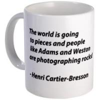 Henri Cartier-Bresson quotes on Mugs, Steins and T