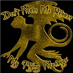 Don't make me release my Flying Monkeys.  A great Wizard of Oz Flying Monkeys design