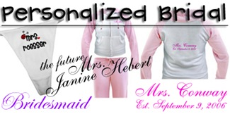 Personalized Bridal
