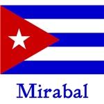 Mirabal Cuban Flag