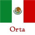 Orta Mexican Flag