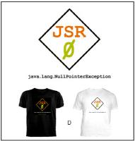 D) Black or White (JSR Zero) T-Shirt