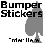 Poker Bumper Stickers