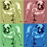 4 Tone Bulldog Design