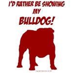 Showing Bulldog Red