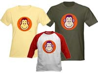 Monkey T-shirts & Goods