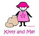 Kitty & Me -Persian Cat and a little girl