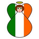 Irish Flag Angel