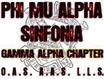 Phi Mu Alpha GA Chapter Tee Shirts & Gifts