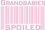 Grandbabies Spoiled Pink