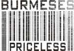 Burmese Cats Priceless Lover T-shirts Gifts