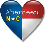 Love Aberdeen North Carolina T-shirts & Gifts