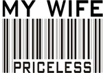 My Wife Priceless Barcode