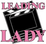 Leading Lady Actor Actress Drama T-shirts & Gifts