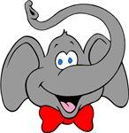 Cute Elephant Cartoon T-shirts & Gifts