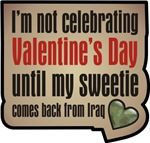 Military Sweetheart Iraq Valentine T-shirts Gifts