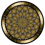 Golden Mandala Kaleidoscope T-shirts & Gifts