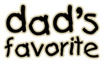 Funny Humorous Dad's Favorite T-shirts & Gifts