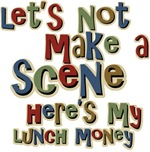 Here's my Lunch Money School Bully T-shirts Gifts