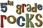 5th Grade Rocks Fifth School T-shirts & Gifts