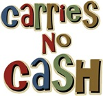 Funny Carries No Cash T-shirts & Gifts