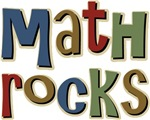 This Math Rocks, is a great College, University, Elementary, Junior or High school design for t-shirt and gift items 