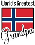 World's Greatest Norwegian Grandpa T-shirts  Gifts