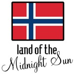 Norway Land of the Midnight Sun T-shirts & Gifts