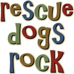 Rescue Dogs Rock Pet Dog Lover T-shirts & Gifts