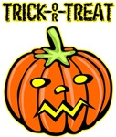 Trick or Treat Halloween Pumpkin T-shirts Gifts
