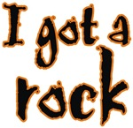 I Got A Rock Halloween t-shirts gifts