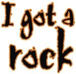 I Got A Rock Halloween t-shirts gifts