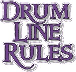 Drum Line Rules t-shirts gifts
