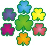Shamrock 7 Rainbow t-shirts gifts