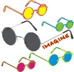 Imagine Glasses Colors t-shirts gifts