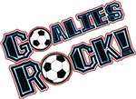Goalies Rock t-shirts gifts