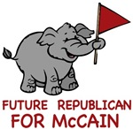 Future Republican for McCain t-shirts gifts