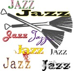 Jazz Brushes t-shirts gifts